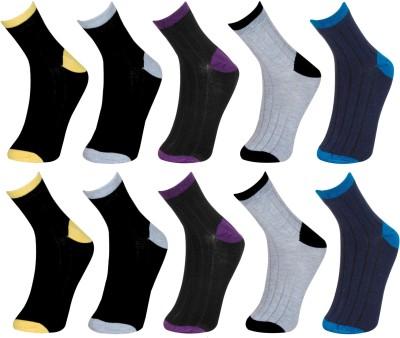 VAGON Men & Women, Boys & Girls Solid Ankle Length Socks