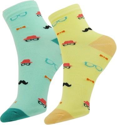 Neska Moda Women's Solid Ankle Length Socks(Pack of 2) at flipkart