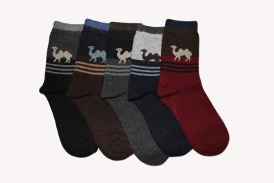 Narang Sons Men,s Crew Length Socks