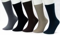Morson Mens Solid Mid-calf Length Socks(Pack of 5)