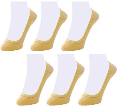 Neska Moda Women's Solid No Show Socks(Pack of 6) at flipkart