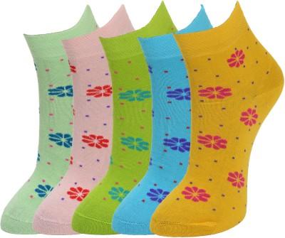 Marc Women's Graphic Print Ankle Length Socks at flipkart
