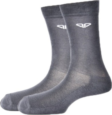 Pinellii Italian Terry Airflow Men's Solid Mid-calf Length Socks
