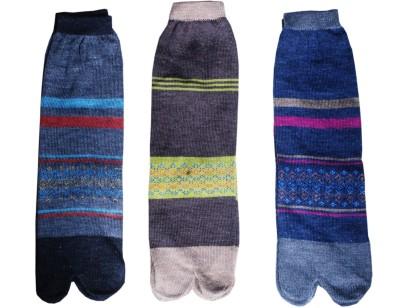 Jainam Women's Self Design Ankle Length Socks(Pack of 3) at flipkart