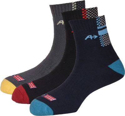 Arrow Men's Solid Ankle Length Socks