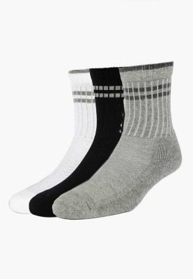 Allen Solly Men's Solid Crew Length Socks