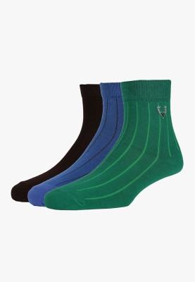 Allen Solly Men's Solid Quarter Length Socks