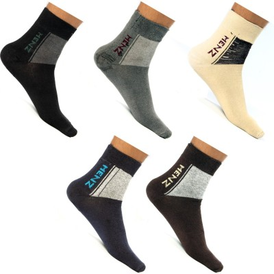 Roselon Mens Crew Length Socks