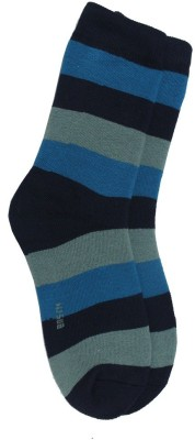 Romano Women,s Striped Ankle Length Socks