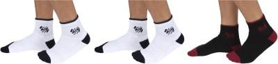SportSoul Men's Self Design Ankle Length Socks