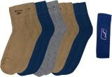 Spenta Men's Ankle Length Socks