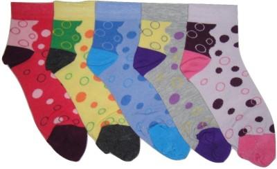 Well Wear Women,s Graphic Print Ankle Length Socks