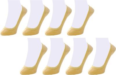Neska Moda Women's Solid No Show Socks(Pack of 8) at flipkart