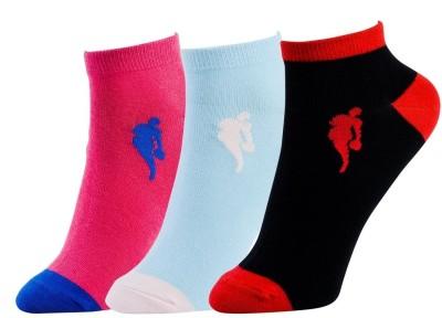 NBA Women's Solid Ankle Length Socks