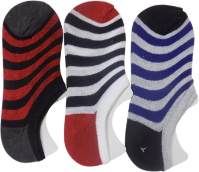 STONIC Men's Striped Footie Socks