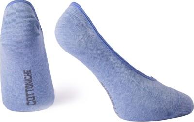 Cottoniche Prism Men's Self Design No Show Socks
