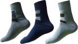 Garg Sport Men's Striped Ankle Length So...