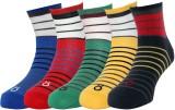 Lefjord Men's Printed Ankle Length Socks...