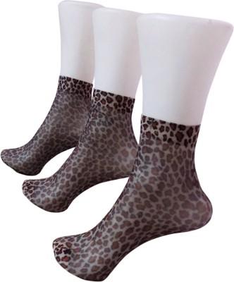 Rege Women's Animal Print Ankle Length Socks