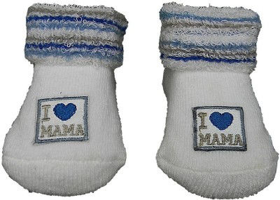 Swaraj Baby Boy's Embriodered Footie Socks