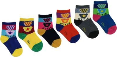 Green Zone Boy's Quarter Length Socks