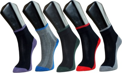 Marc Mens Self Design Ankle Length Socks