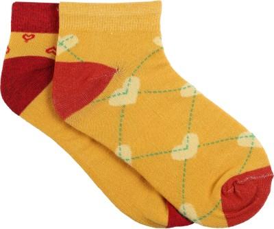 Renzer Women's Graphic Print Ankle Length Socks