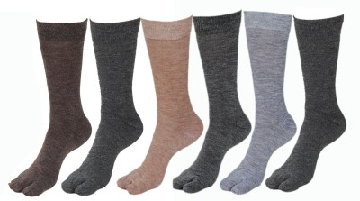 Goyal Knitting Women's Solid Mid-calf Length Socks