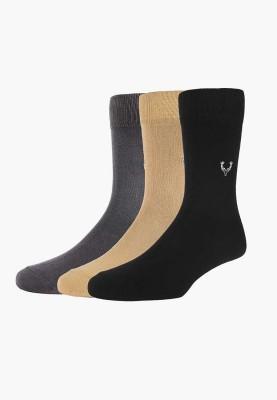 Allen Solly Men's Solid Mid-calf Length Socks