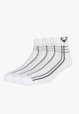 Allen Solly Mens Striped Ankle Length Socks