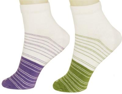 Neska Moda Women's Ankle Length Socks(Pack of 2) at flipkart