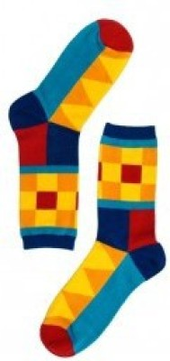 The Tie Hub Mens Crew Length Socks