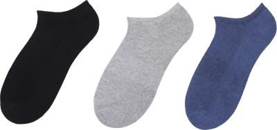 Klair Men's Solid Low Cut Socks