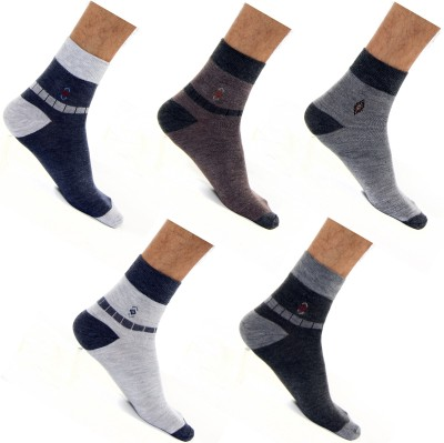 Roselon Men's Crew Length Socks