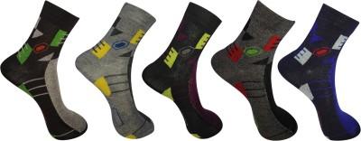 awon Men's Ankle Length Socks
