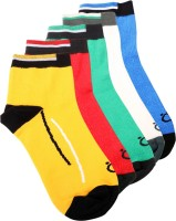 Lefjord Mens Solid Ankle Length Socks(Pack of 5)