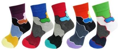Avm Hw Velvet Men's Graphic Print Ankle Length Socks