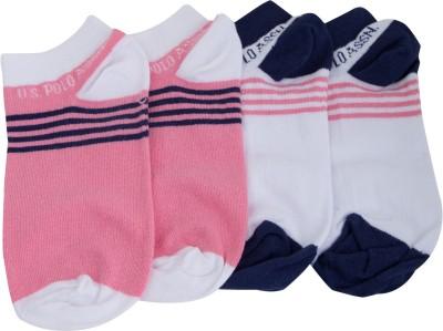 U.S. Polo Assn. Women's Ankle Length Socks