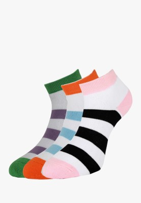 Allen Solly Women's Self Design Ankle Length Socks