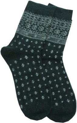 Romano Quality Women,s Printed Crew Length Socks