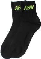 Never Ever Give In Premium Mens Striped Ankle Length Socks(Pack of 3)