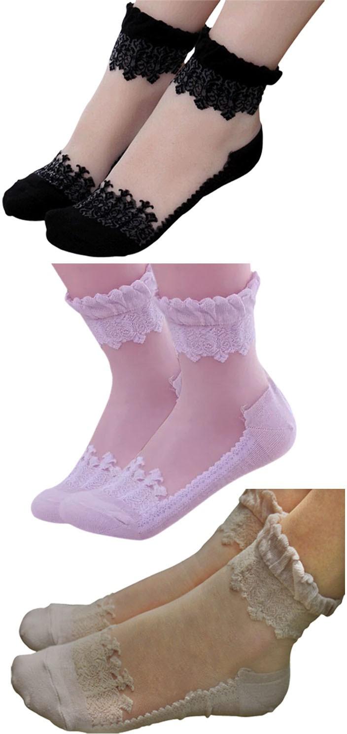 Brandstand Womens Self Design Ankle Length Socks(Pack of 3)