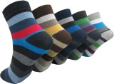 Morson Men's Striped Ankle Length Socks ...