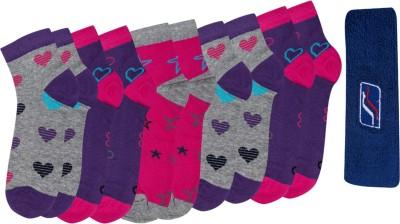 Spenta Girl's Ankle Length Socks