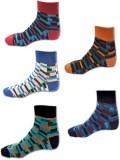 Avm Hw Velvet Men's Self Design Ankle Le...