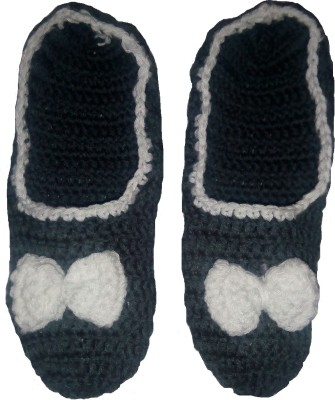 Gayatri Booties Women's Self Design Footie Socks