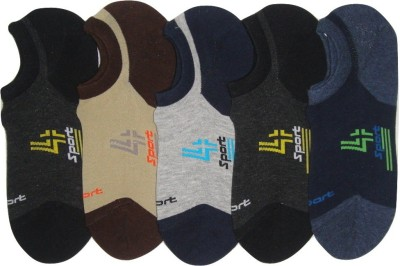 Well Wear Men,s Printed Footie Socks