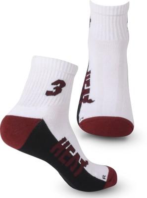 NBA Men's Solid Crew Length Socks