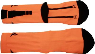 AB PLUS Men's Solid Crew Length Socks