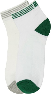 Renzer Women's Self Design Ankle Length Socks
